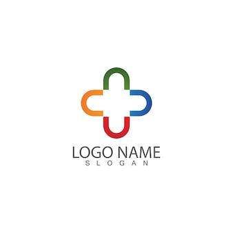Szablon logo szpitala