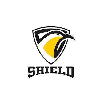 Szablon logo tarczy