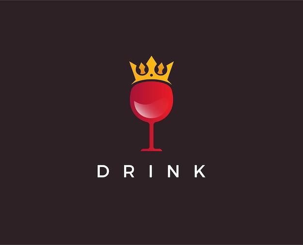 Szablon logo winiarni