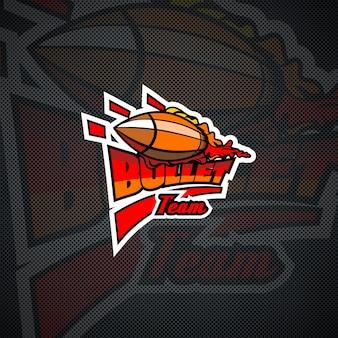 Szablon logo zespołu bullet.
