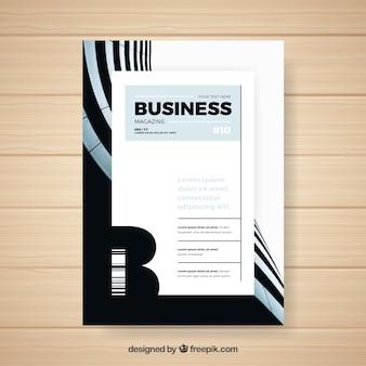 Szablon magazyn biznesowy