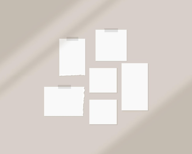 Szablon makiety tablicy nastroju z nakładką cienia