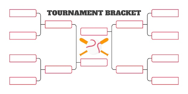 Szablon mistrzostw 8 drużynowych turniejów drabinkowych