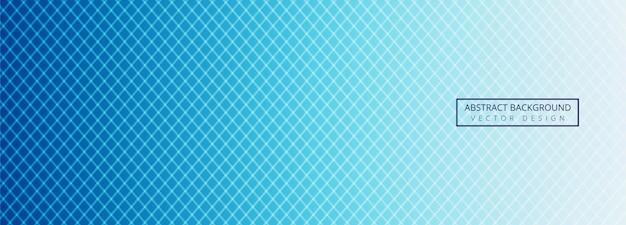 Szablon nagłówka nowoczesne niebieskie linie geometryczne