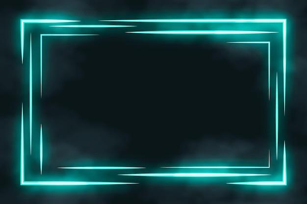 Szablon neonowej ramki