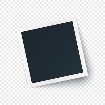 Szablon obrazu ramki retro zdjęcie