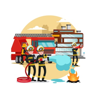 Szablon ochrony przeciwpożarowej