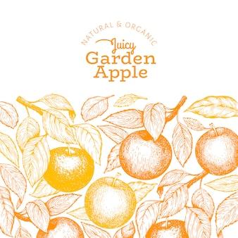 Szablon oddziału apple.