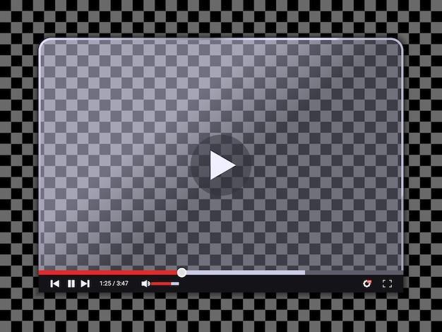 Szablon odtwarzacza wideo