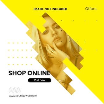 Szablon oferta sprzedaż online