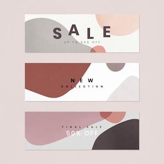 Szablon oferty sprzedaży 50 procent memphis