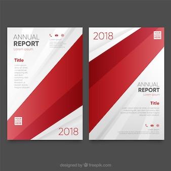 Szablon okładki raportu rocznego