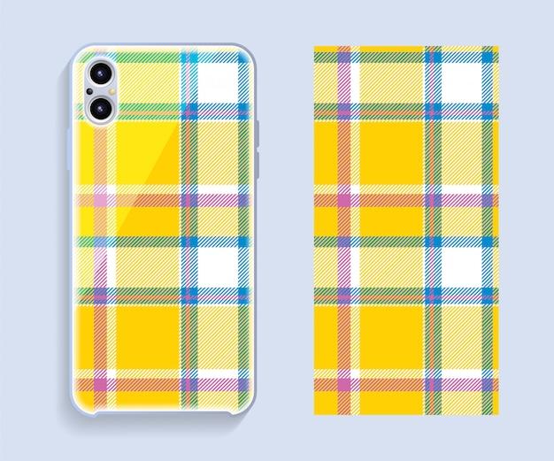 Szablon okładki smartphone szkocka szkocka