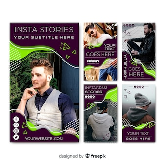 Szablon opowieści streszczenie instagram
