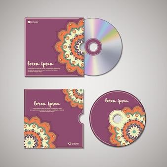 Szablon orientalny okładki cd.