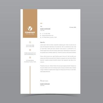 Szablon papieru firmowego a4