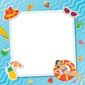 Szablon pool-party-template