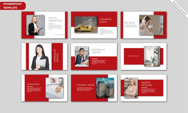 Szablon prezentacji biznesowej dla programu powerpoint