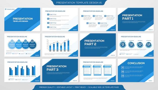 Szablon prezentacji biznesowych
