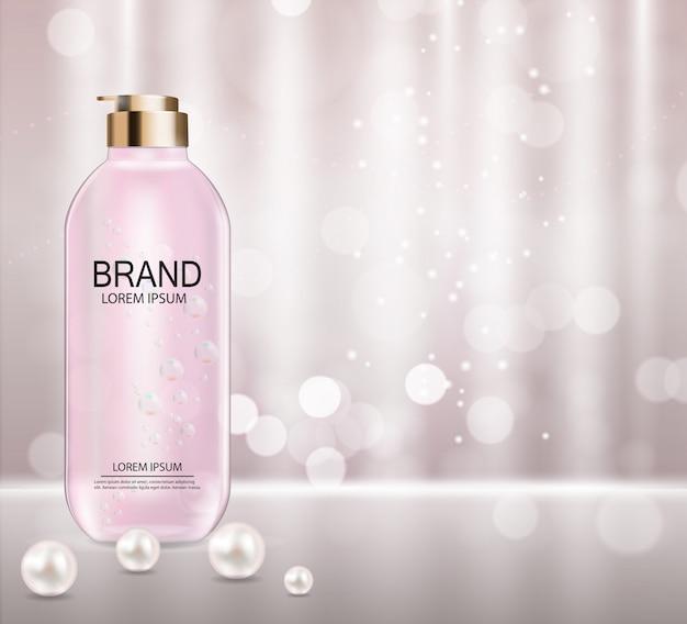 Szablon produktu kosmetycznego