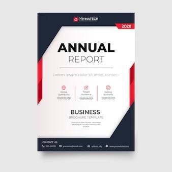 Szablon profesjonalny biznes broszura