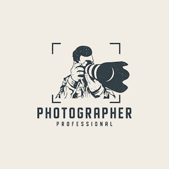 Szablon profesjonalny logo fotograf