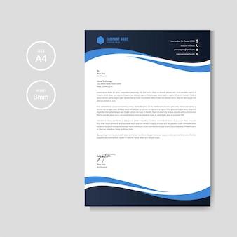 Szablon profesjonalny papier firmowy