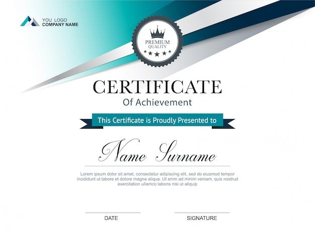 Szablon projektu certyfikatu