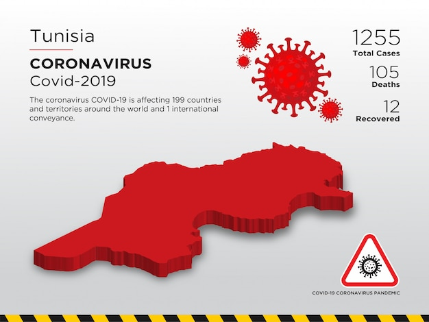 Szablon projektu choroby koronawirusa dotkniętego chorobą