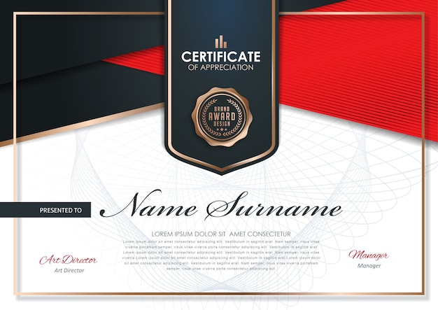 Szablon projektu dyplomu premium