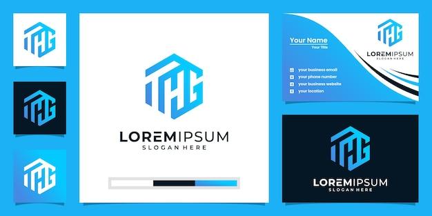 Szablon projektu ikona logo początkowe litery. elegancki, nowoczesny, luksusowy.