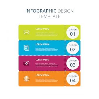 Szablon projektu infograficznego