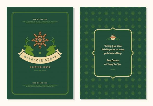 Szablon projektu kartki świąteczne