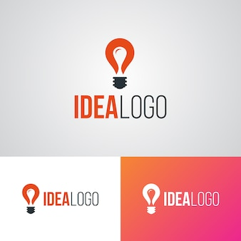 Szablon projektu logo creative idea