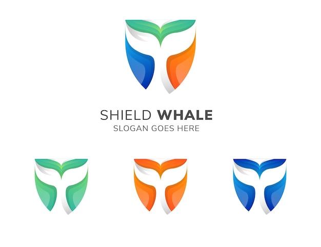Szablon projektu logo dobrze tarczy.