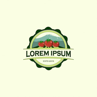Szablon projektu logo farmy