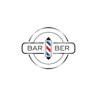 Szablon projektu logo fryzjera