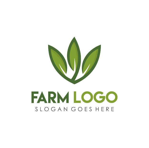 Szablon projektu logo gospodarstwa dom i rolnictwa