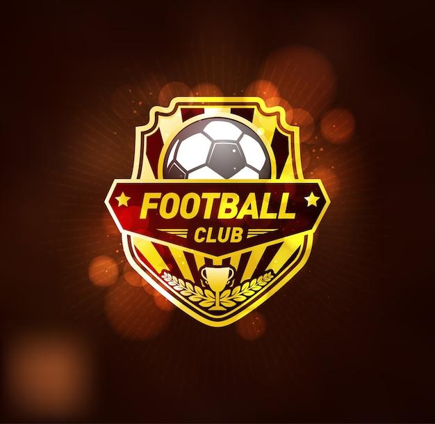 Szablon projektu logo klubu piłki nożnej