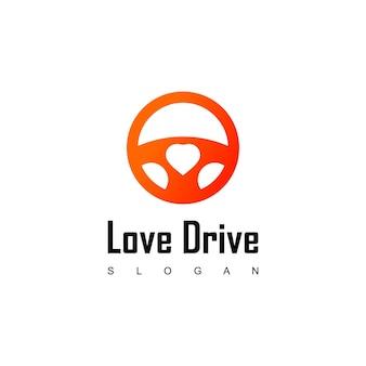 Szablon projektu logo love drive