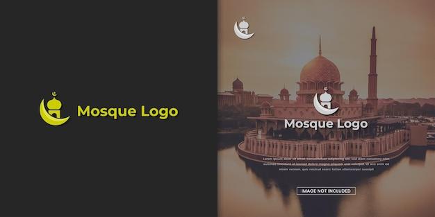 Szablon projektu logo meczetu