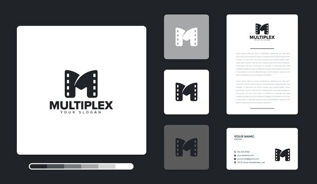 Szablon projektu logo multipleksu