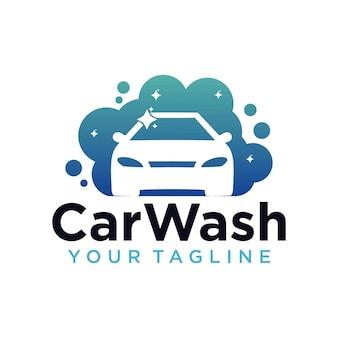 Szablon projektu logo myjni samochodowej