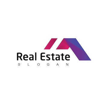 Szablon projektu logo nieruchomości