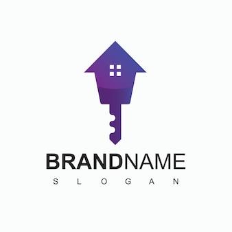 Szablon Projektu Logo Nieruchomości Premium Wektorów