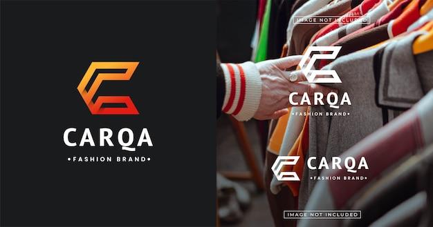 Szablon Projektu Logo Nowoczesnego Listu Premium Wektorów