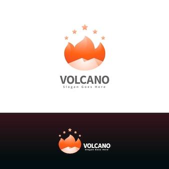 Szablon projektu logo nowoczesnej torby na zakupy