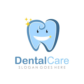 Szablon projektu logo opieki stomatologicznej