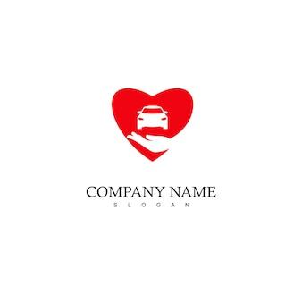 Szablon projektu logo pielęgnacji samochodu