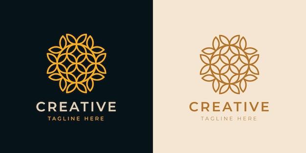 Szablon projektu logo royal boutique line